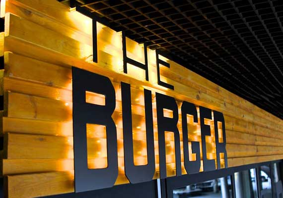 THE BURGER restaurant, Kyiv .